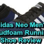 adidas neo cloudfoam mens running shoes review