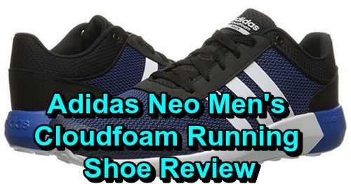 Adidas Neo Men's Cloudfoam Running Shoe Review