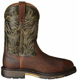 Ariat Men's Workhog Wide Square Metguard Composite Toe Work Boot Review