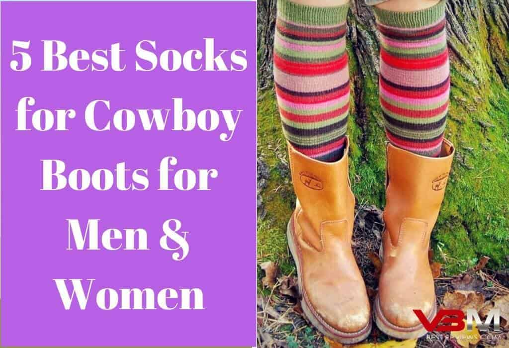 Best Socks for Cowboy Boots for Men and Women Review