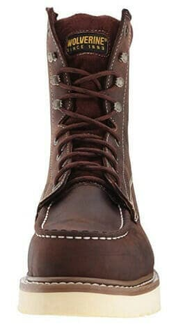Waterproof Leather Material of Wedge Sole Work Boots