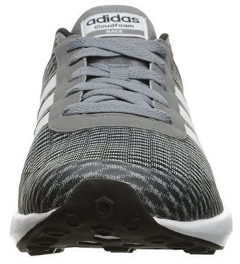 Durable Toe Cap of Adidas Neo Cloudfoam Running Shoe