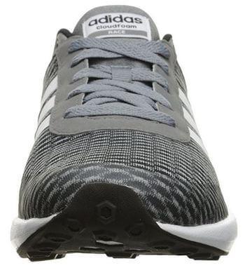 Durable Toe Cap of Adidas Neo Cloudfoam Running Shoe