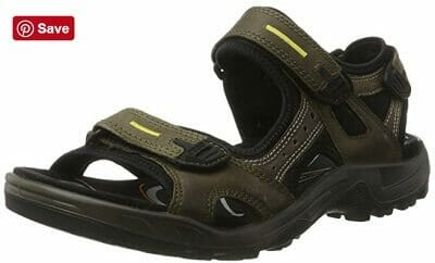 ECCO Mens Yucatan Outdoor Sandal Review