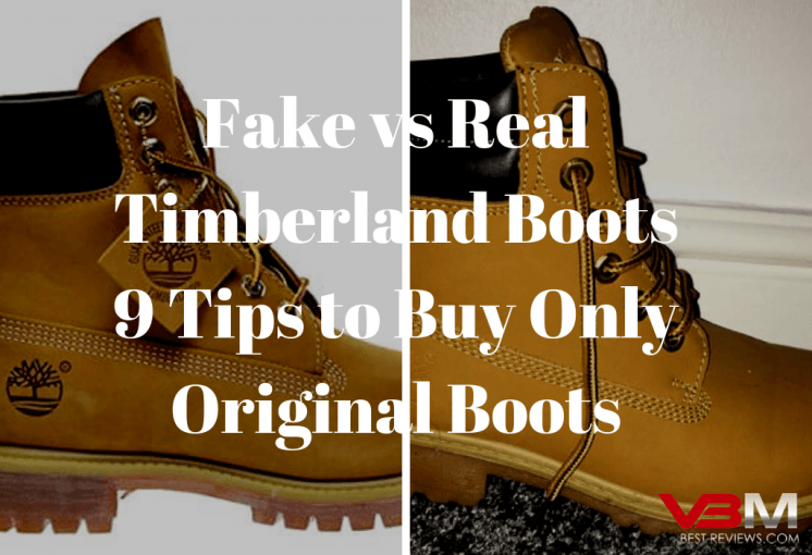 Fake Timberlands vs Real Ones - 9 Tips