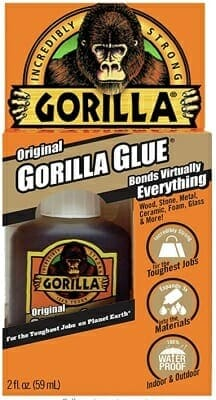 Gorilla Original Waterproof Polyurethane Glue Review