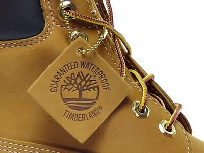 High Quality Trademark Tag of Real Timberland Boot