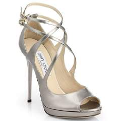 Jimmy Choo Atlas Platform Leather Platform Sandal