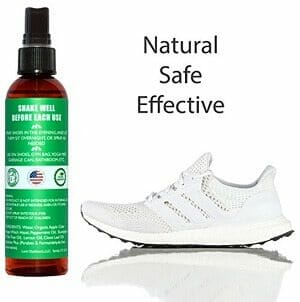 lumi outdoors natural shoe deodorizer spray