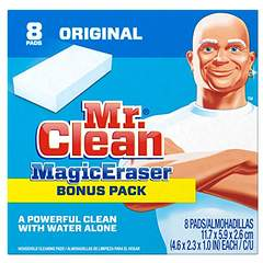 Magic Eraser for Eliminating Shoe Scuff Marks