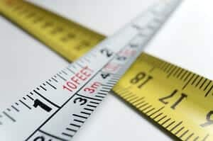 Measuring Tape to Measure Your Foot Size