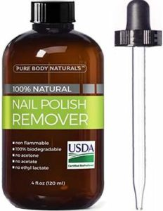 Nail Polish Remover to Remove Scuff Marks from Shoes