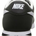Nike Logo at the Heel Side of the Cortez Leather Running Shoe