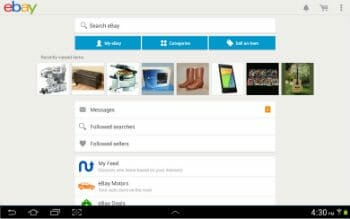 Official Ebay Android App for Shoe Shopping