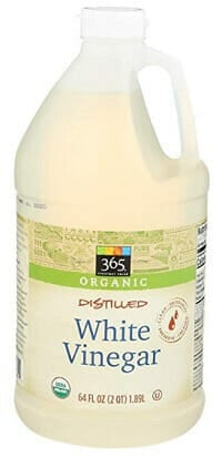 Oragnic Distilled White Vinegar to Clean Timberland Boots