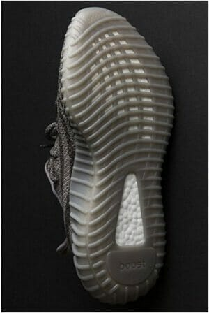 Outsole Design of Adidas Yeezy Boost 350 V2