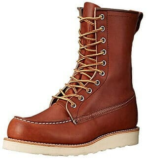 Red Wing Heritage 877 Men's Moc 8 Inch Work Boot Review