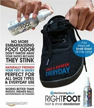 RightFoot Foot and Shoe Deodorant Spray