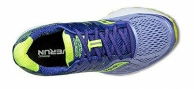 Saucony Ride 10 Engineered Mesh Upper with Venting Holes