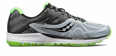 Saucony Ride 10 Woven Heel Counter