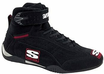 Simpson Racing AD115BK Adrenaline Driving Shoe